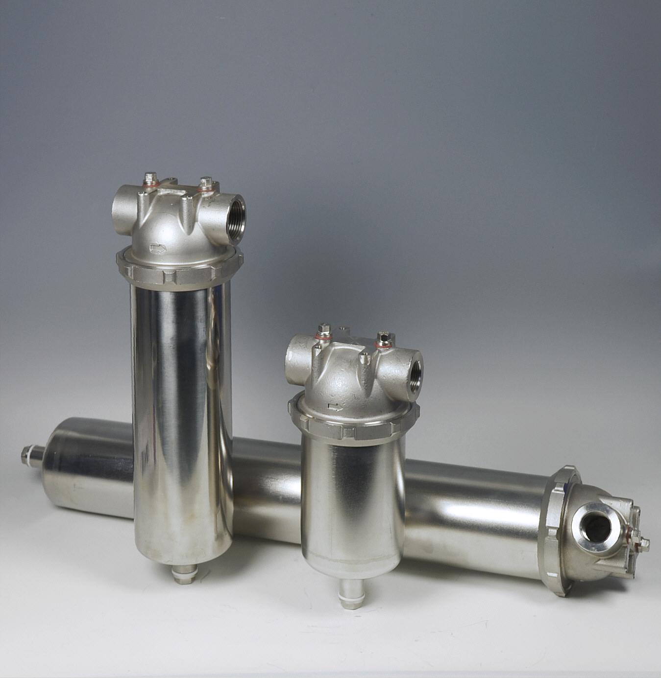 Edelstahl-Kerzenfiltergehäuse der Causa® TRB-Serie