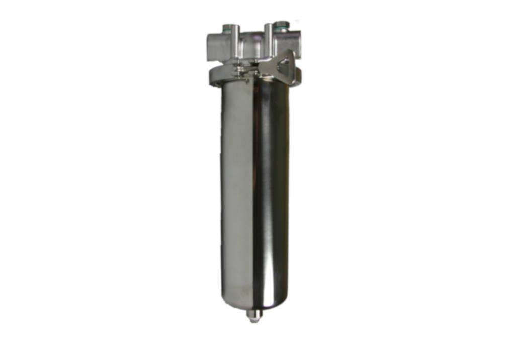 Edelstahl-Kerzenfiltergehaeuse mit Schnellspannklammer der Causa® TCA/TCB-Serie