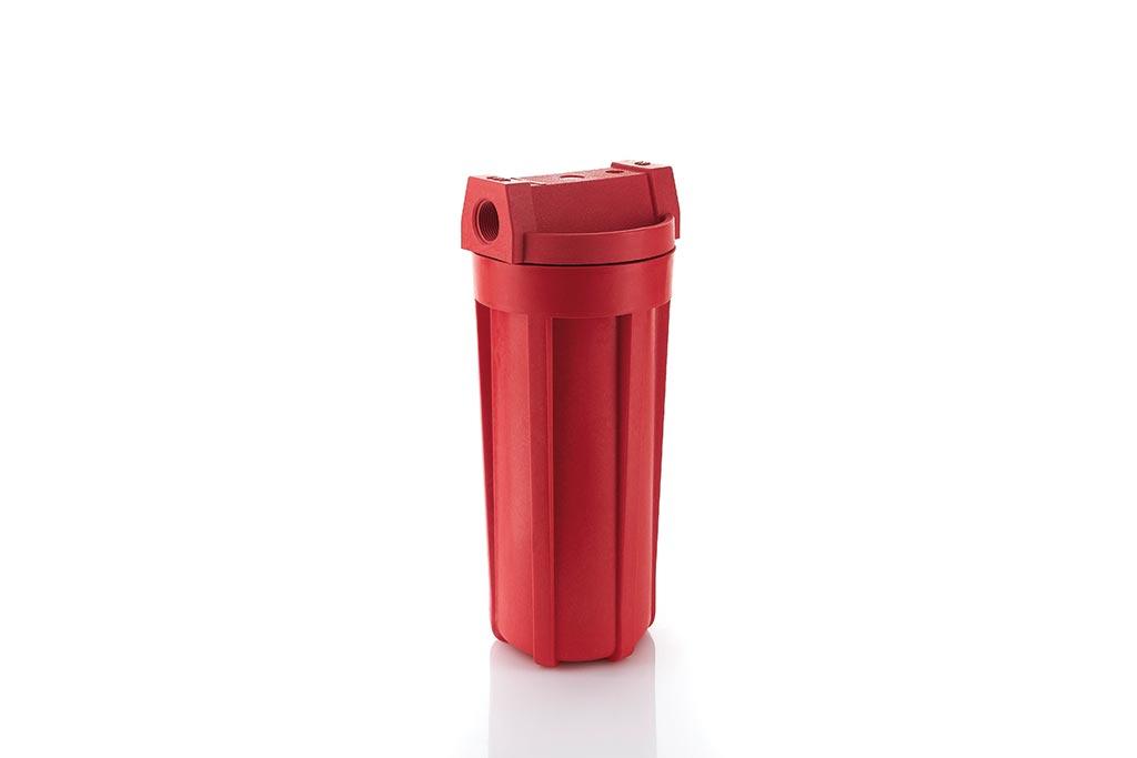 NN-Red High Temperature Gehäuse aus glasfaserverstärktem Polyamid