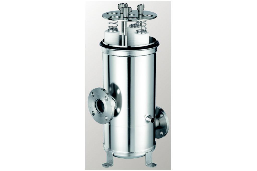 Mehrfach-Filterkerzengehäuse aus Edelstahl CMC