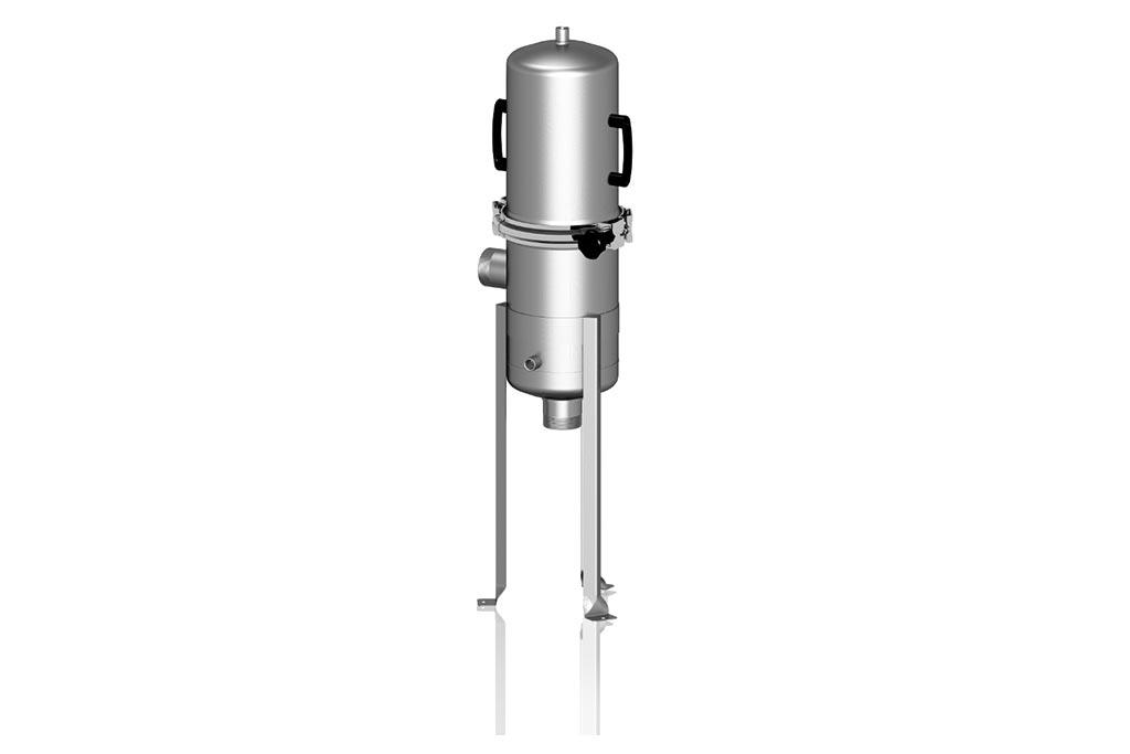 Mehrplätziges Edelstahl-Kerzenfiltergehäuse CVL
