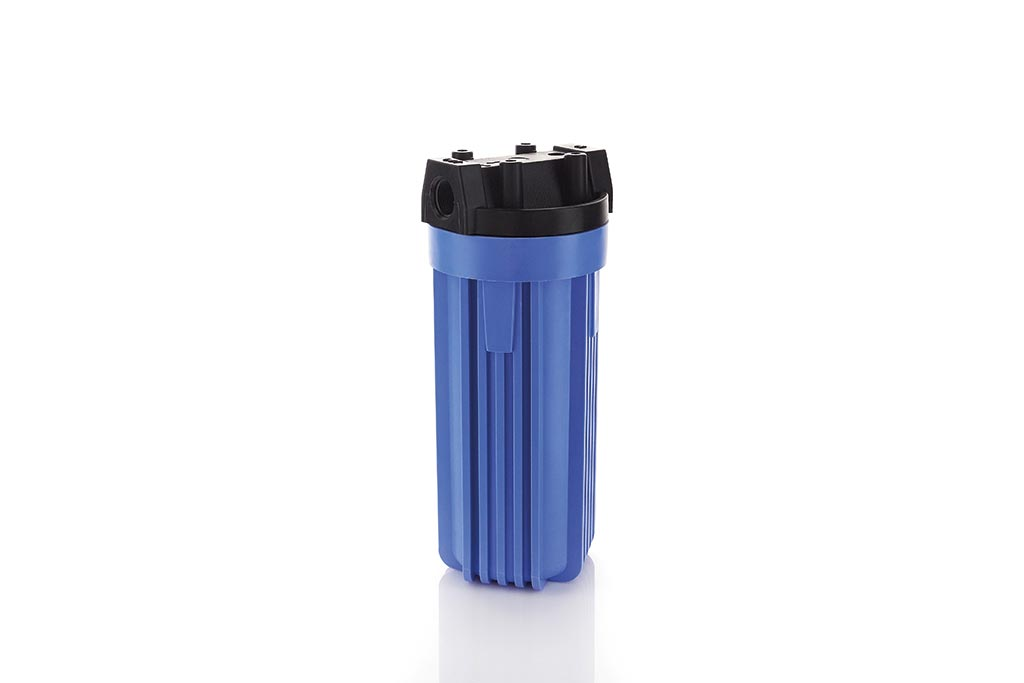 PP-Blue Filtergehäuse aus Polypropylen für 5 Zoll 10 Zoll und 20 Zoll Filterelemente
