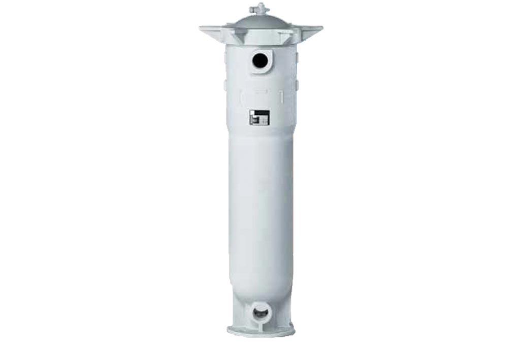 Sideentry Beutelfiltergehäuse aus Kunststoff SEP-01/02 von Causa, der Handelsmarke von Infiltec