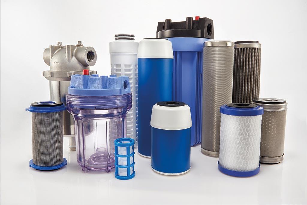Verschiedene Produkte für die Flüssigkeitsfiltration von Causa, der Handelsmarke von Infiltec