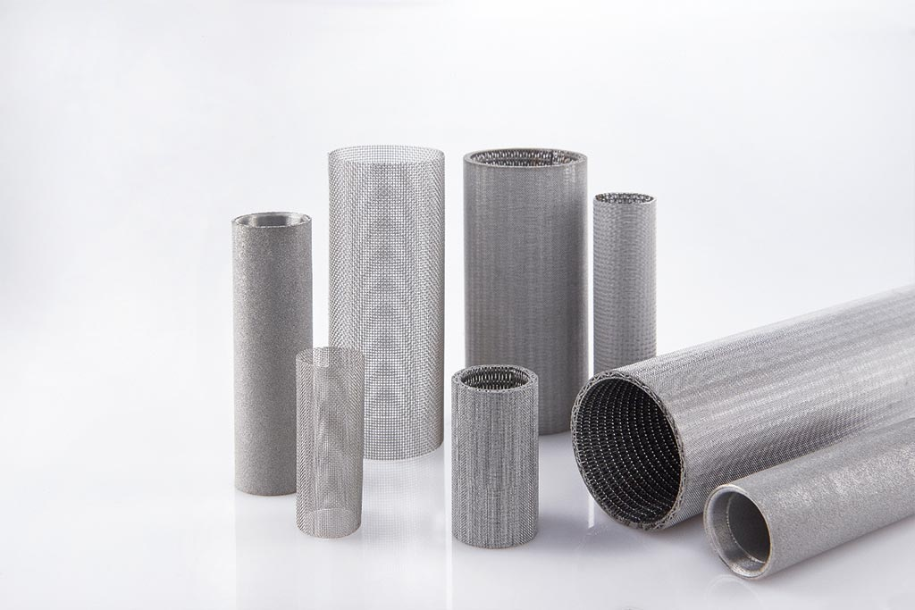 Infiltec Edelstahl-Filterelemente